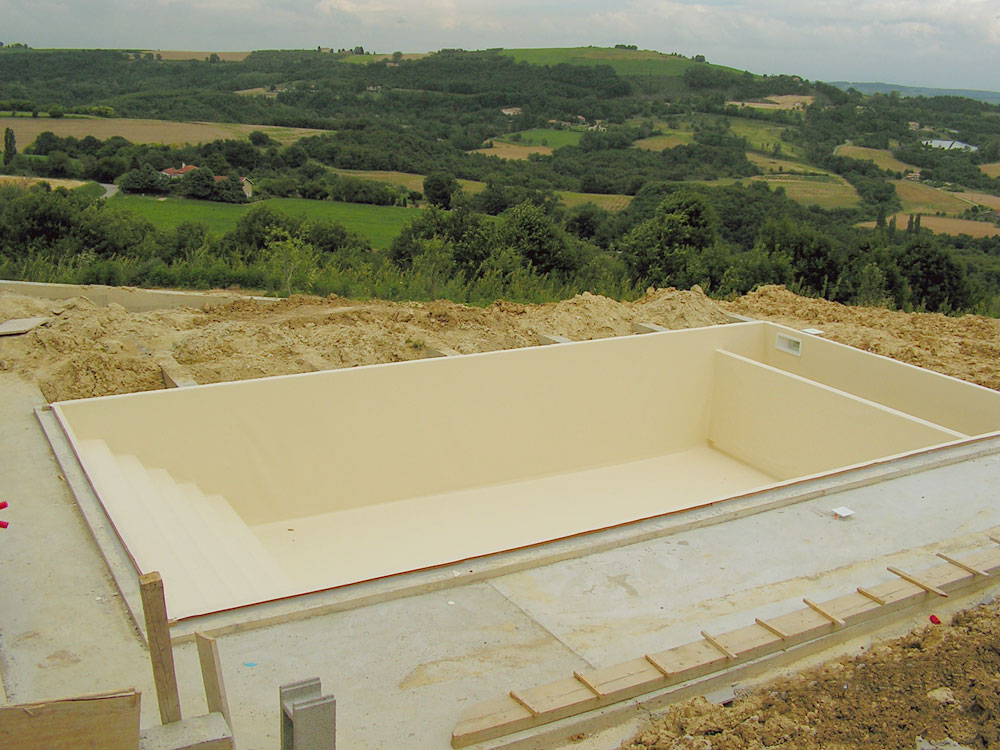 Construction piscine drome for Construction piscine tva